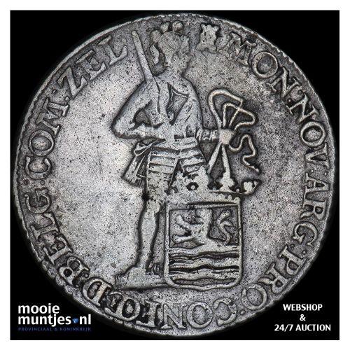 Zeeland - Zilveren dukaat - 1779 (kant B)