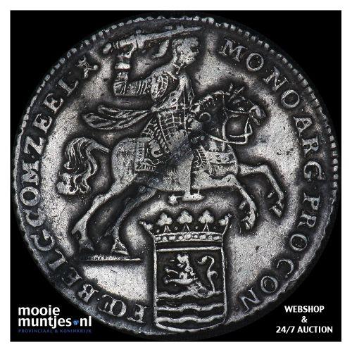 Zeeland - Zilveren rijder of dukaton - 1750 (kant B)