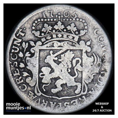 Zeeland - Kwart dukaat  - 1765 (kant A)