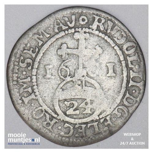 Zwolle - Dubbele stuiver - 1601 (kant A)