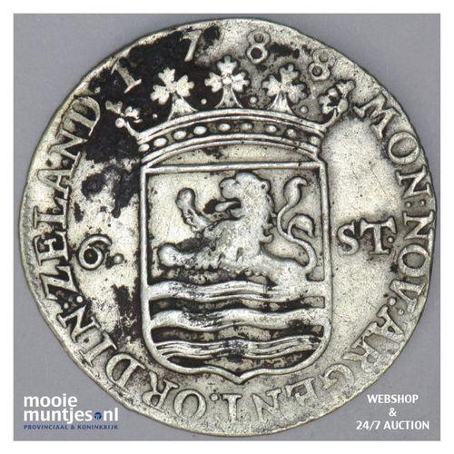 Zeeland - Scheepjesschelling - 1788 (kant A)
