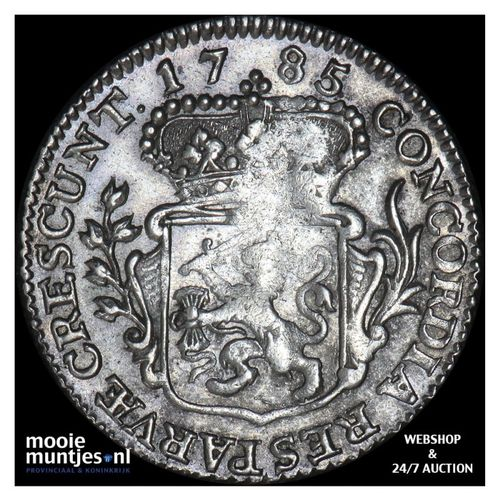 Zeeland - Achtste dukaat of Pietje - 1785 (kant A)