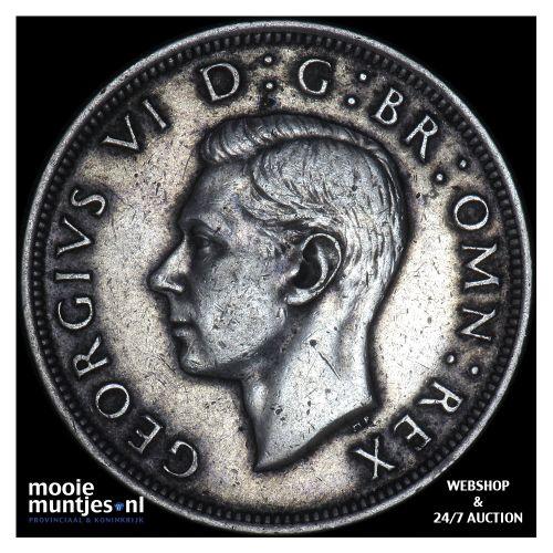 1/2 crown - Great Britain 1939 (KM 856) (kant B)