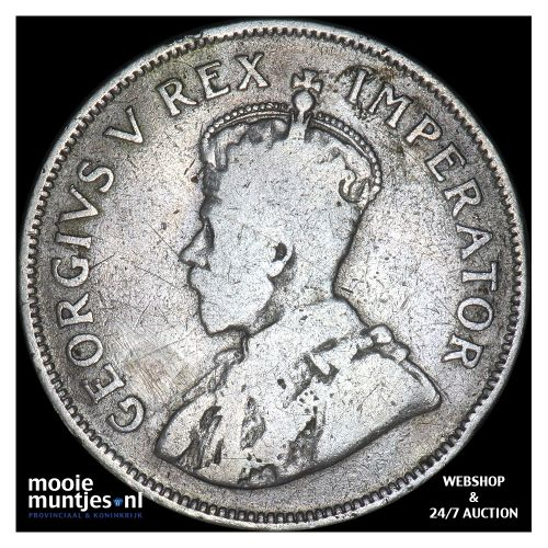 2-1/2 shillings - South Africa 1924 (KM 19.1) (kant B)