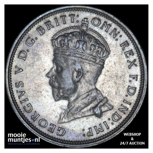 florin - sterling coinage - Australia 1927 (KM 31) (kant B)