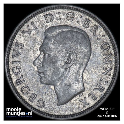 florin (two shillings) - Great Britain 1939 (KM 855) (kant B)
