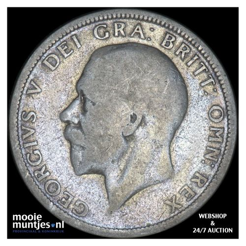 florin (two shillings) - Great Britain 1929 (KM 834) (kant B)