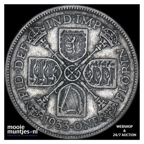 florin (two shillings) - Great Britain 1933 (KM 834) (kant A)
