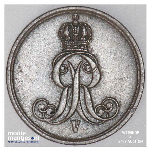 pfennig - German States/Hannover 1860 (KM 233) (kant B)