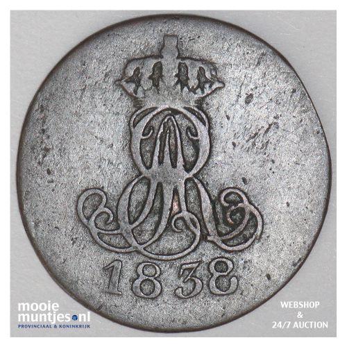 pfennig - German States/Hannover 1838 (KM 176) (kant B)