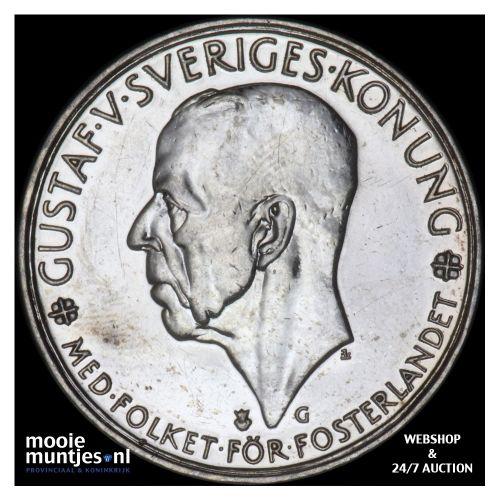 5 kronor - Sweden ND (1935) (KM 806) (kant B)