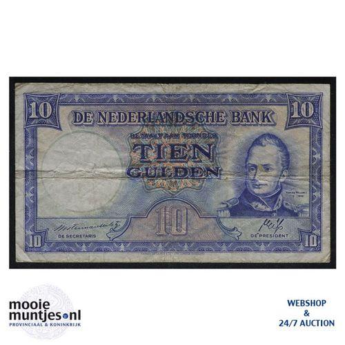 10 gulden  - 1945 (Mev. 46-1 / AV 35) (kant A)