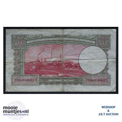10 gulden  - 1945 (Mev. 46-1 / AV 35) (kant B)