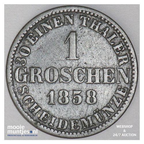 groschen - German States/Hannover 1858 (KM 236) (kant A)