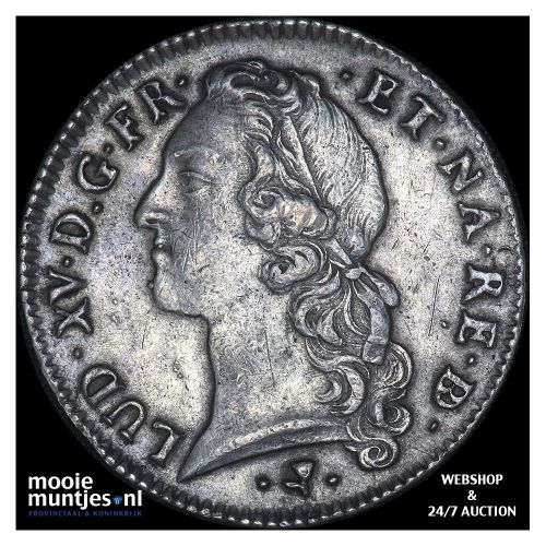 ecu - France 1757 (Pau) (KM 518) (kant B)