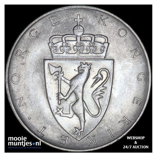 10 kroner - Norway ND (1964) (KM 413) (kant B)