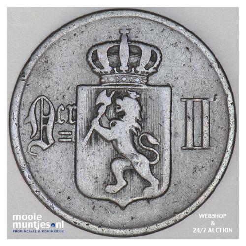 5 ore - Norway 1876 (KM 349) (kant B)