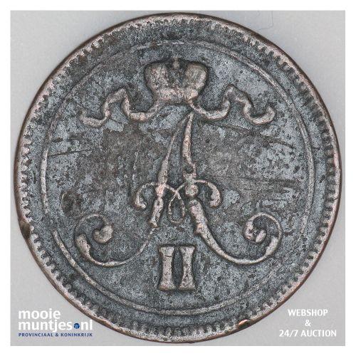 10 pennia - grand duchy - Finland 1865 (KM 5.1) (kant B)