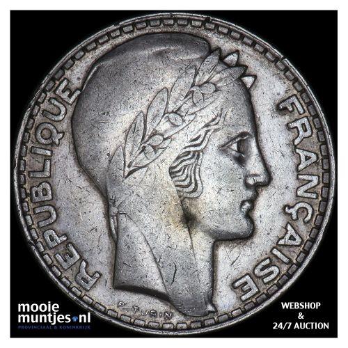 20 francs - France 1933 (KM 879) (kant B)
