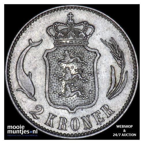 2 kroner - Denmark 1916 (KM 820) (kant B)