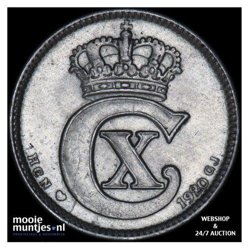 25 ore - Denmark 1920 (KM 815.2a) (kant A)