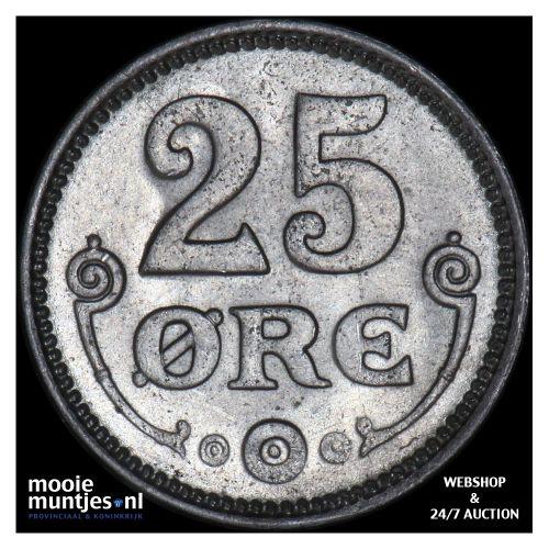 25 ore - Denmark 1920 (KM 815.2a) (kant B)