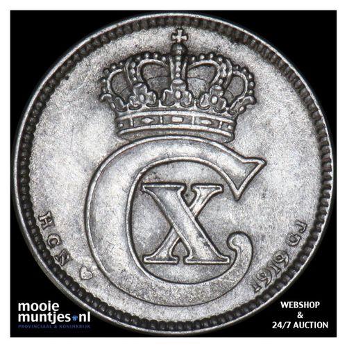 25 ore - Denmark 1919 (KM 815.2) (kant A)
