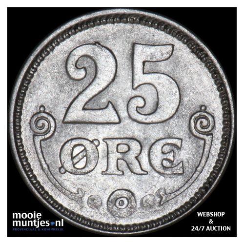 25 ore - Denmark 1919 (KM 815.2) (kant B)
