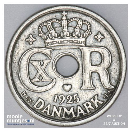 25 ore - Denmark 1925 (KM 823.1) (kant A)