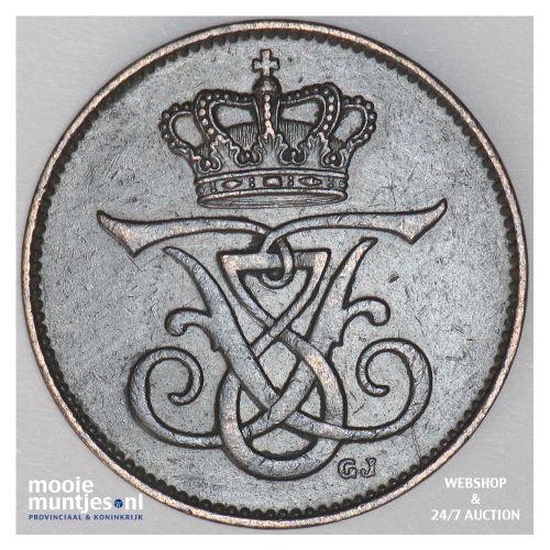 2 ore - Denmark 1912 (KM 805) (kant B)