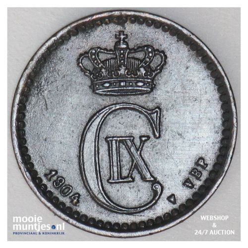 ore - Denmark 1904 (KM 792.2) (kant A)