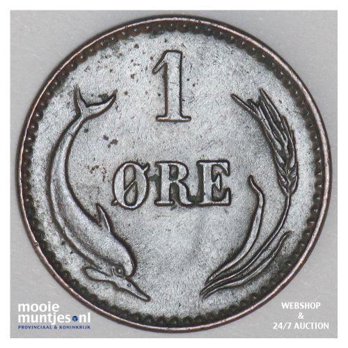 ore - Denmark 1874 (KM 792.1) (kant B)