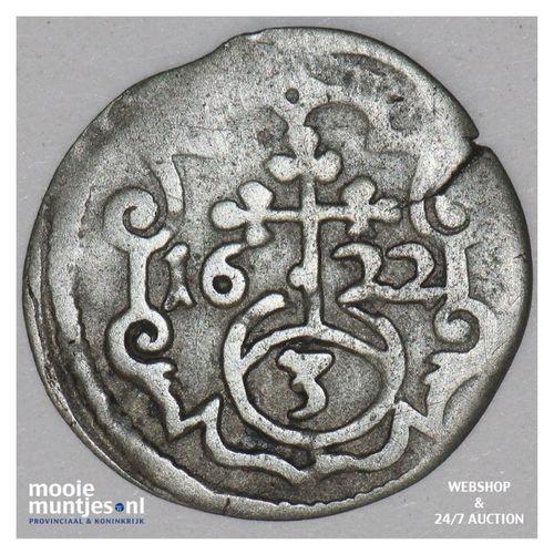 3 pfennig (dreier) - German States/Quedlinburg 1622 (KM 29) (kant A)