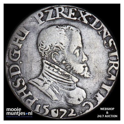 Utrecht - Vijfde Philipsdaalder - 1572 (kant A)