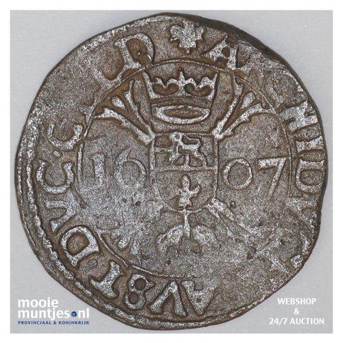 Roermond - Kwart stuiver of oord van 12 mijten - 1607 (kant A)