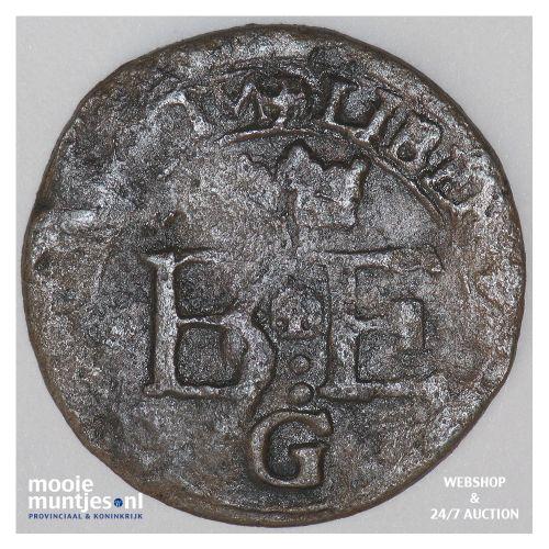 Gronsveld - Kwart stuiver of oord - z.j. (kant B)