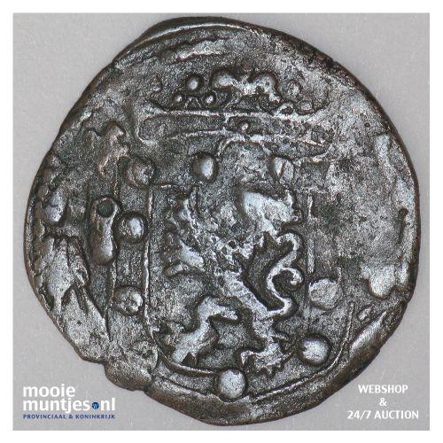 Stevensweert - Achtste stuiver of duit - z.j. (kant B)