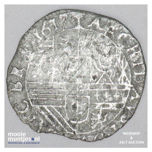 Brabant-´s-Hertogenbosch - Halve stuiver of groot van 24 mijten - 1617 (ka