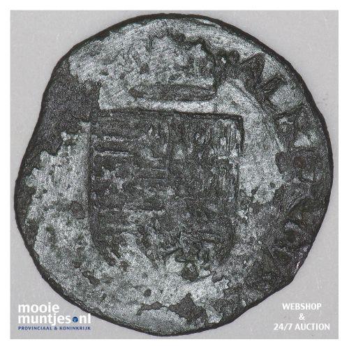 Brabant-´s-Hertogenbosch - Achtste stuiver of duit van 6 mijten - 1602 (ka