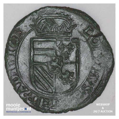 Brabant-´s-Hertogenbosch - Kwart stuiver of oord van 12 mijten - 1581 (kan