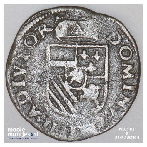 Brabant-Maastricht - Kwart stuiver of oord van 12 mijten - 1586 (kant B)