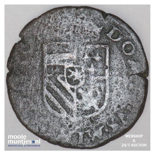 Brabant-Maastricht - Kwart stuiver of oord van 12 mijten - 1591 (kant B)