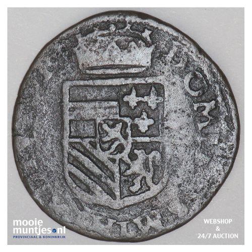 Brabant-Maastricht - Kwart stuiver of oord van 12 mijten - 1593 (kant B)