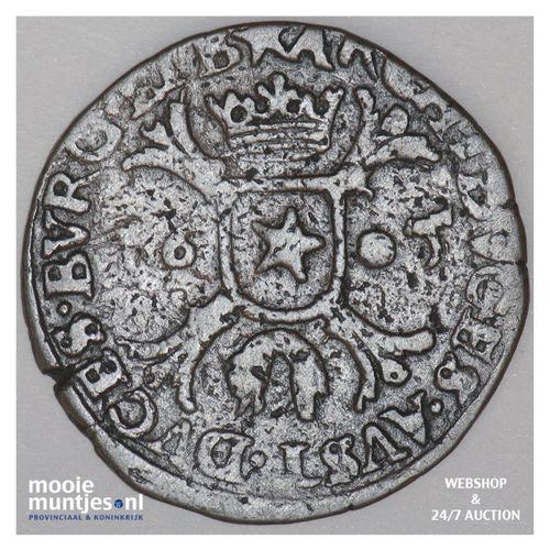 Brabant-Maastricht - Kwart stuiver of oord van 12 mijten - 1605 (kant A)