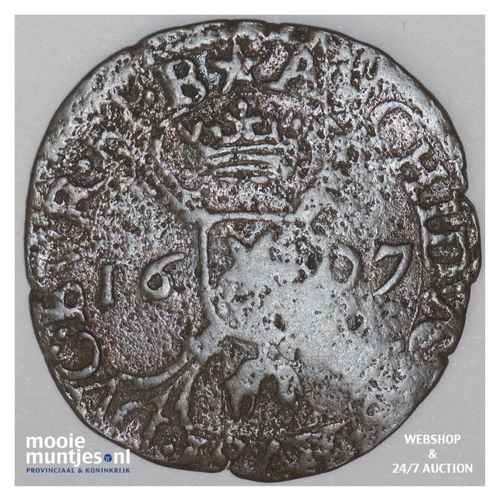 Brabant-Maastricht - Kwart stuiver of oord van 12 mijten - 1607 (kant A)