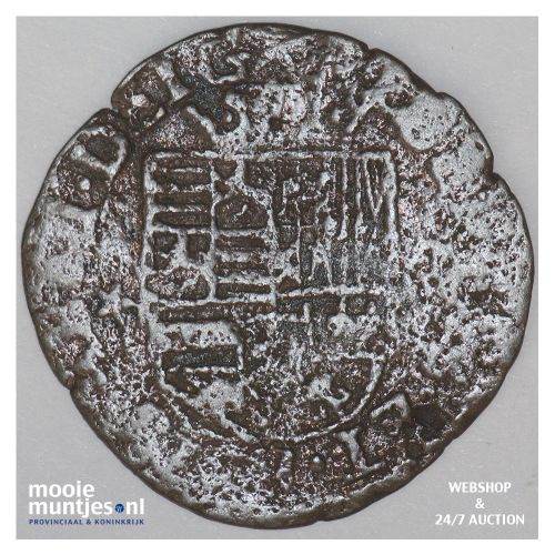 Brabant-Maastricht - Kwart stuiver of oord van 12 mijten - 1607 (kant B)