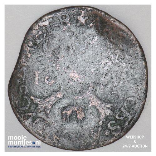 Brabant-Maastricht - Kwart stuiver of oord van 12 mijten - 1611 (kant A)