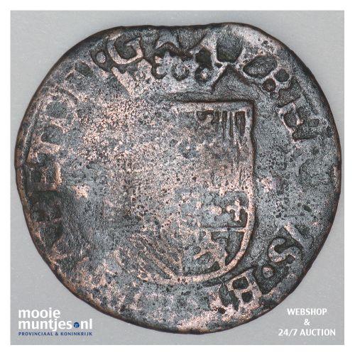 Brabant-Maastricht - Kwart stuiver of oord van 12 mijten - 1611 (kant B)