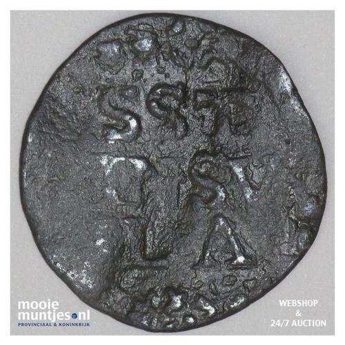 Stevensweert - Achtste stuiver of duit - z.j. (kant A)
