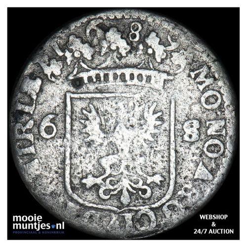 Deventer - Rijderschelling - 1689 (kant A)